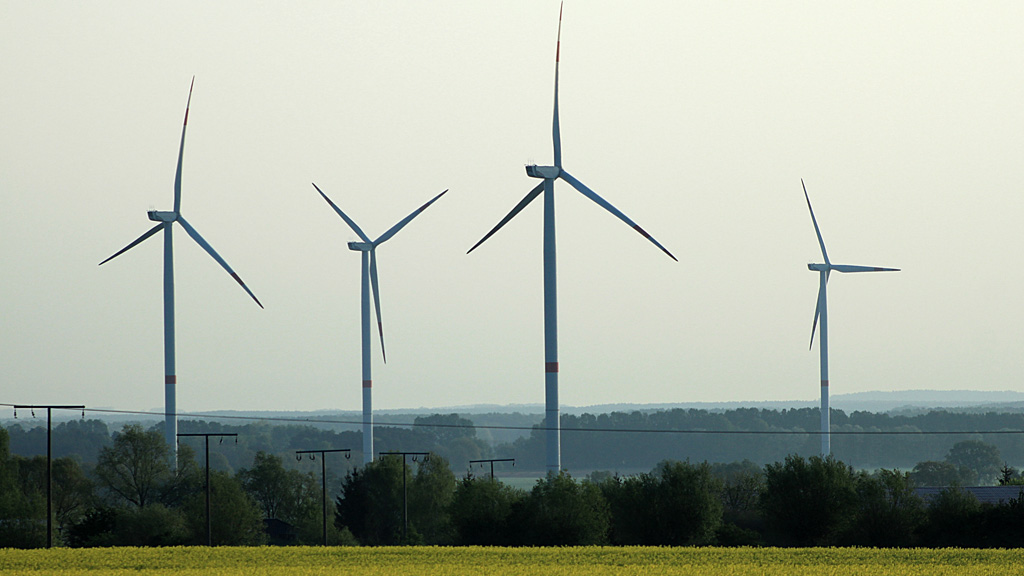 Windkraftanlagen in Suckow